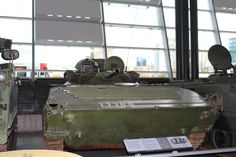 Serbian BMP captured by Canadian Forces in Bosnia...