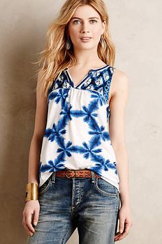 Morning Glory Tank - anthropologie.com