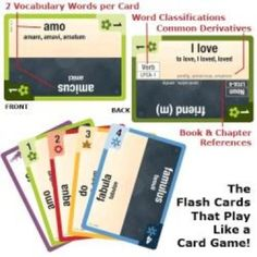 Latin Clash Cards – Latin for Children, Primer « Library User Group