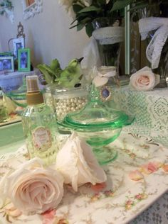napoleons note's: Romantic shabby french cottage style home decor