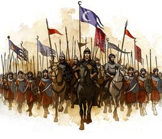 Arabian medieval army by javieralcalde.deviantart.com on @deviantART