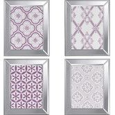 Found it at Wayfair - Ornamental I 4 Piece Framed Graphic Art Set