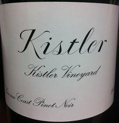 2010 Kistler Pinot Noir Kistler Vineyard