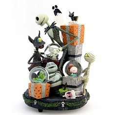 NIGHTMARE BEFORE CHRISTMAS SNOW GLOBE | THE NIGHTMARE BEFORE CHRISTMAS Making Christmas