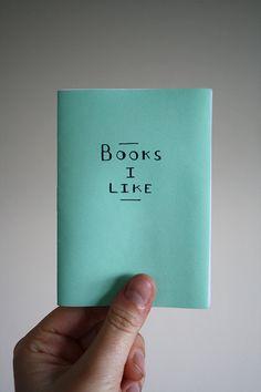 Books I Like - mini zine
