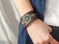 Kit de bricolage au point de croix bracelet par RedGateStitchery