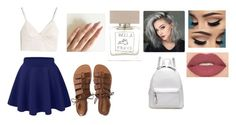 """Sunday"" by isabellasmall on Polyvore featuring Madewell, Smashbox, Aéropostale and Bella Freud"