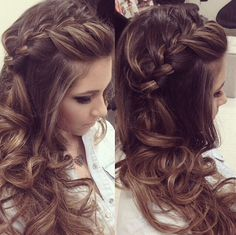 In love for this braided hair!  By Janaina Mendes