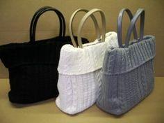 Модные вязаные сумки 2014. Вязаные сумки фото | 3vision - Fashion blog