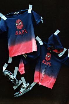 "A Bathing Ape x Marvel Comics 2012 Fall/Winter ""Spider-man"" Capsule Collection 