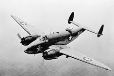 """ww1ww2photosfilms: """" US Navy PV-1 Ventura aircraft in flight, 1942 Source United States Library of Congress Identification Code LC-USW33-032361-C """""""