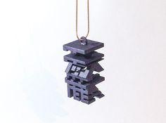Baka/Tensai_Fool/ Genius_japanese 3d printed