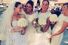 steven khalil wedding dress cream bridesmaid dresses david austin bouquet