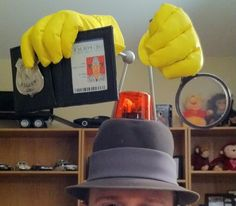 Inspector Gadget Costume - Halloween 2010 - Page 3
