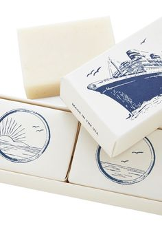 Lather be Sailing Soap Set