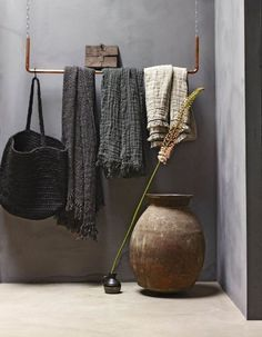 Amazing open wardrobe slow life art of living wabi sabi . - Best Decoration ideas for the home Interior Design Trends, Apartment Interior Design, Interior Styling, Interior Inspiration, Interior Decorating, Design Ideas, Colour Inspiration, Decorating Tips, Design Interiors
