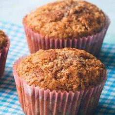 Kanel muffins opskrift fra Bageglad (fik 10 stk i AMR muffinsforme) Cupcake Frosting, Cupcakes, I Foods, Sweet Tooth, Food And Drink, Pudding, Yummy Food, Sweets, Snacks