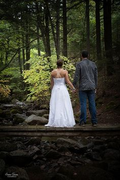 Jamie and Mike Trash The Dress Acadia National Park | by Susan Garver Photography