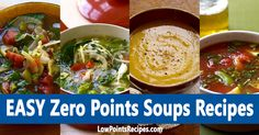EASY Zero Points Soups Weight Watchers Recipes