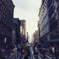 Busy streets of #SOHO #yoonicorninNY  by jyoonicorn http://ift.tt/1Bfw7Br
