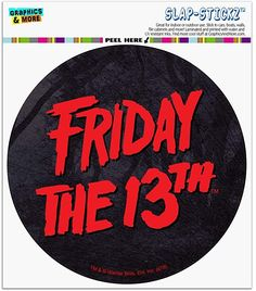 Automotive Logo, Friday The 13th, Car Magnets, Bumper Stickers, Prints, Bumper Stickers For Cars