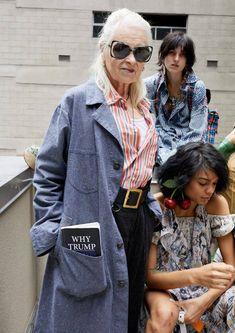 Vivienne Westwood by Juergen Teller Vivienne Westwood, Punk, Harajuku Girls, Advanced Style, Mori Girl, Spring Summer 2018, Japanese Fashion, British Style, Business Women