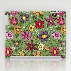 Juicy Florals iPad Case by Doris & Fred - $60.00