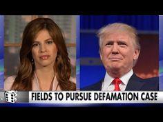 Michelle Fields is Suing Donald Trump For Defamation - Filing Civil Case Against Trump & Lewandowski - YouTube