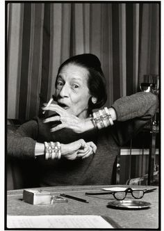 """Diana Vreeland (July 29, 1903 Paris, France, August 22, 1989 New York City) was a legendary editor in chief of Vogue and consultant to the Costume Institute of the Metropolitan Museum of Art. Her publishing career began in 1937 as columnist for Harper's Bazaar, ran a column called """"Why Don't You?"""" She is responsible for launching many iconic careers, establishing countless trends that have stood the test of time, and bringing an unprecedented and incontrovertible perspective to the fashion world"""