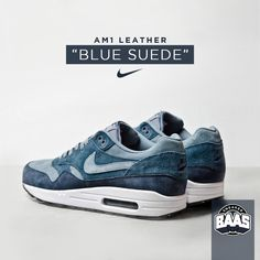 "Nike AM1 Leather ""Blue Suede"" 