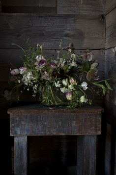 Black Urban Earthy Saipua Flowers Wedding Ideas Inspiration