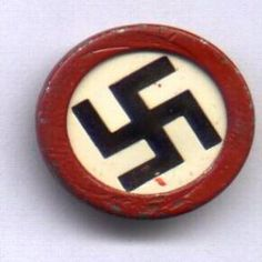 A Nazi Party Badge Artifact Collection Artifacts Collection of the Yad Vashem Museum All rights reserved