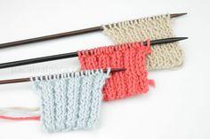 Cómo tejer punto elástico. Aprende a tejer punto elastico simple, doble. Tutorial con fotos y videos para aprender de forma sencilla. Blog Paca La Alpaca Lana, Knitting, Videos, Blog, Accessories, Fashion, Shape, Double Knitting, Types Of Tissue