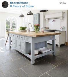 Floors of stone - grey slate