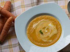 Karotková krémová polievka s chilli
