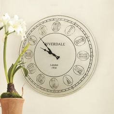 Ahhh!!! I've been lookin for a white clock... We. Have. A. WINNER!!!!!