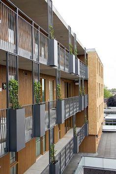 Woonzorgcomplex en Kulturhus Kaleidoskoop - alle projecten - projecten - de Architect: