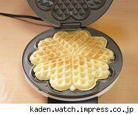 flower shaped waffle maker
