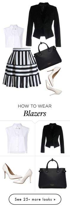 """Untitled #579"" by tessa-creations on Polyvore featuring Helmut Lang, Philipp Plein and Burberry"