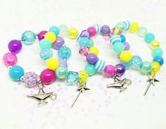 Shimmer and Shine party favors bracelets with special birthday