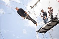 Trapeze School = a must in Santa Monica.  Did we mention it's right on the Pier?!