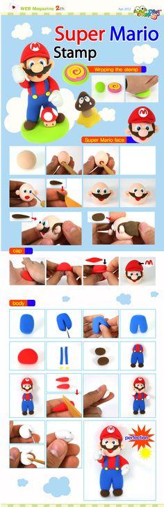 Super Mario Bros                                                                                                                                                                                 Mehr (fondant cookie ideas)