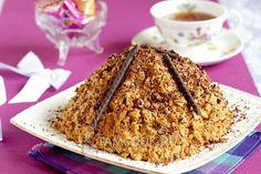 Фото торта «Муравейник» из печенья
