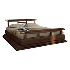 Kondo Japanese Platform Bed contemporary platform bed, platform bed frame, platform bed set, king platform bed, Japanese platform bed