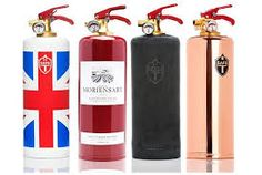 Safe-T brand Tusch und Egon社 消火器 Made Design, Getting Fired, Fire Art, Kitchen Themes, New Home Gifts, Fire Extinguisher, Union Jack, Boyfriend Gifts, Cool Gifts