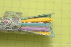 Sew a cash envelope wallet!  This tutorial is fantastic.