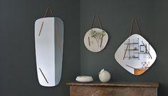 miroirs triptyque gris maison simone