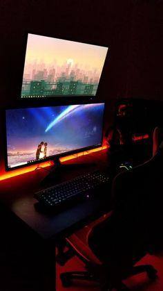 137 Best Gaming Setup Images Best Gaming Setup Video Game Rooms