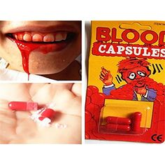 New Realistic Blood Capsules Toys Magic Tricks Halloween Horrific Prop Gadget Fun For Friends Family BY LETBO * For more information, visit image link. (This is an affiliate link) #BabyToddlerToys