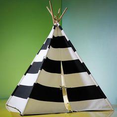 Black and White Play Teepee